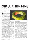 Tumb.  Simulating Ring Rolling Article
