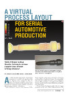 Tumb. Article Virtual Process Layout for Serial Automotive Produktion